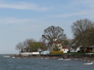 near ferry dock