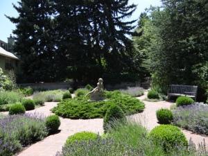 denver botanic garden statue