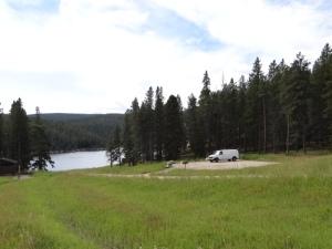 lake and van