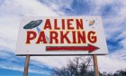 Alien Parking sign in Roswell, New Mexico